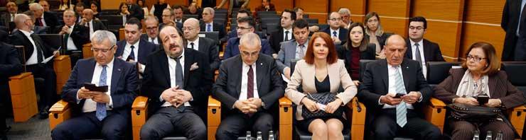 MESKOM-Ekonomi Bakanlığı Ortak Akıl ve İstişare Toplantısı Ekonomi Bakanı Nihat Zeybekci'nin Katılımıyla Yapıldı 06