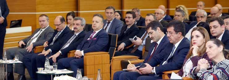 MESKOM-Ekonomi Bakanlığı Ortak Akıl ve İstişare Toplantısı Ekonomi Bakanı Nihat Zeybekci'nin Katılımıyla Yapıldı 12