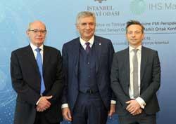 """İSO ve IHS Markit, """"Dünya ve Türkiye Ekonomisine PMI Perspektifinden Bakış"""" Konferansı Düzenledi 01"""