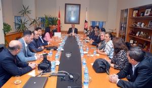 Ardahan Dernekler Federasyonu Üyeleri İSO Başkanı Erdal Bahçıvan'ı Ziyaret Etti 01