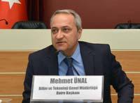 Bilim ve Teknoloji Genel Müdürlüğü Daire Başkanı Mehmet Ünal
