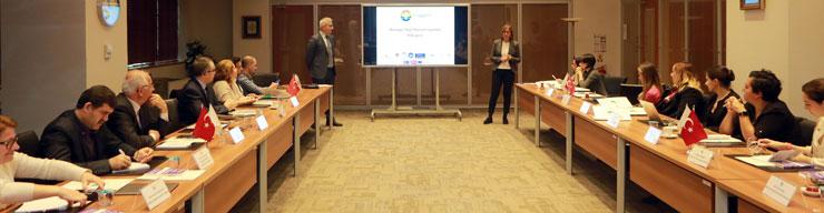 Avrupa Staj Konsorsiyumu, 3. Üst Yönetim Toplantısını Üsküdar Üniversitesi'nde Yaptı 02