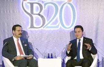 B20'nin Küresel Aktörleri Türkiye'deki 'Başlangıç' Toplantısında Buluştu 02