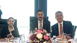 Gümrük ve Ticaret Bakanı Tüfenkci İSO'nun Yeni Yönetimini Ziyaret Etti