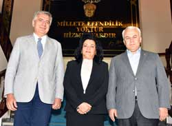 İSO Başkanı Bahçıvan, Muğla Valisi Civelek ve Muğla TSO Başkanı Karakuş'u Ziyaret Etti 01