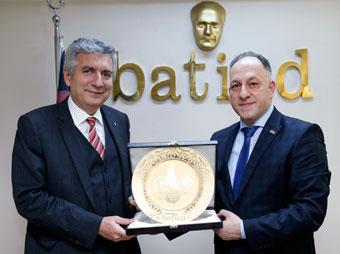 İSO Başkanı Erdal Bahçıvan BATİAD Yönetimini Ziyaret Etti