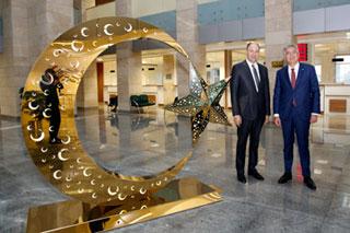 İSO Başkanı Bahçıvan İstanbul Bölge İdare Mahkemesi Başkanı Yılmaz'ı Ziyaret Etti 01
