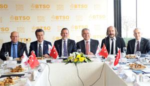 İSO ve BTSO, Marmara Bölgesi'ni Yüksek Teknoloji ve İnovasyon Havzasına Dönüştürecek 02
