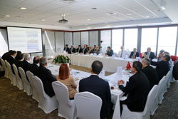 Bursa Ticaret ve Sanayi Odası Yönetimi, İstanbul Sanayi Odası'nda 03