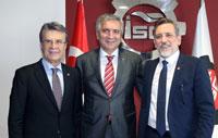 BTSO Meclis Başkanı Remzi Topuk BTSO Yönetim Kurulu Başkanı İbrahim Burkay