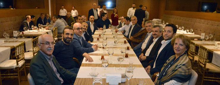 İSO Meclis ve MESKOM Üyeleri, Çalışma Bakanı Müezzinoğlu'yla Sahurda Buluştu 04