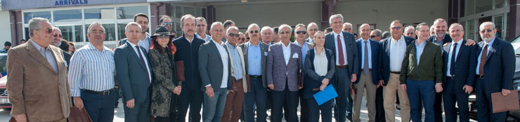 İSO Meclisi ve Meslek Komitesi Üyeleri Çanakkale'yi Ziyaret Etti 01