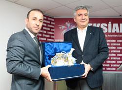 Çekmeköylü Sanayici ve İş Adamları İSO Başkanı Erdal Bahçıvan'ı Ağırladı 01