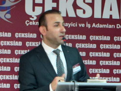 ÇEKSİAD Başkanı Erdal Albayrak