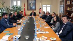 Çorap Sanayicileri Derneği Yöneticileri İstanbul Sanayi Odası'nı Ziyaret Etti