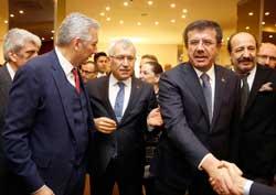 MESKOM-Ekonomi Bakanlığı Ortak Akıl ve İstişare Toplantısı Ekonomi Bakanı Nihat Zeybekci'nin Katılımıyla Yapıldı 03