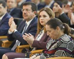 MESKOM-Ekonomi Bakanlığı Ortak Akıl ve İstişare Toplantısı Ekonomi Bakanı Nihat Zeybekci'nin Katılımıyla Yapıldı 09