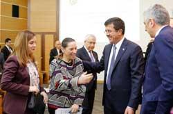 MESKOM-Ekonomi Bakanlığı Ortak Akıl ve İstişare Toplantısı Ekonomi Bakanı Nihat Zeybekci'nin Katılımıyla Yapıldı 11