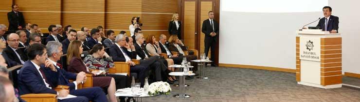 MESKOM-Ekonomi Bakanlığı Ortak Akıl ve İstişare Toplantısı Ekonomi Bakanı Nihat Zeybekci'nin Katılımıyla Yapıldı 02