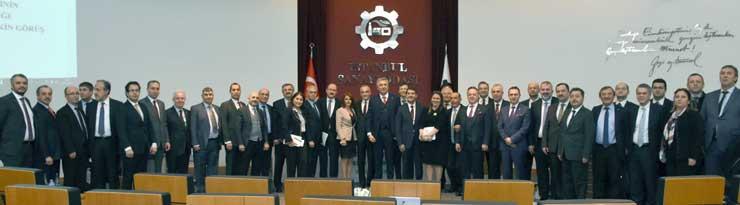 MESKOM-Ekonomi Bakanlığı Ortak Akıl ve İstişare Toplantısı Ekonomi Bakanı Nihat Zeybekci'nin Katılımıyla Yapıldı 04