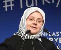 Çalışma ve Sosyal Hizmetler Bakanı Zehra Zümrüt Selçuk