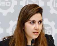 Fas Yatırım ve İhracat Geliştirme Merkezi İş Geliştirme Yöneticisi Nahla Benslama