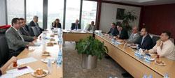 Filistin Ulusal Ekonomi Bakanlığı Heyeti İSO'da