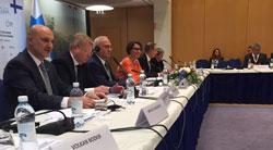 Başbakan Ahmet Davutoğlu'nun Finlandiya Ziyaretine İSO Başkanı Erdal Bahçıvan da Eşlik Etti 02
