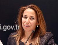 Ekonomi Bakanlığı Ürün Güvenliği<br />ve Denetimi Genel Müdür Yardımcısı Sibel Kaplan