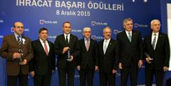Bahçıvan, İstanbul'un Demir ve Metal İhracatçılarının Ödül Gecesinde Konuştu