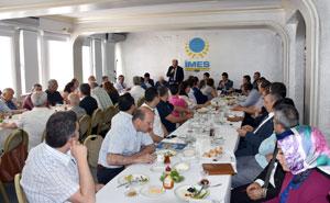 Okul-Sanayi İşbirliği İstanbul Modeli Çalışmaları İMES'li Sanayicilere Anlatıldı