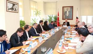 İstanbul Sanayi Odası, İranlı Sanayici ve Yetkililerle OSB Konusunda Toplantı Yaptı 03