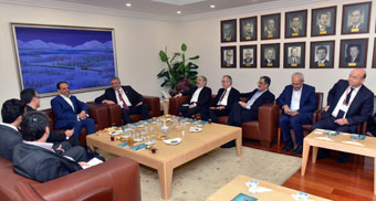 İstanbul Sanayi Odası Yönetimi, İran Sanayi Odaları Temsilcilerini Ağırladı 01