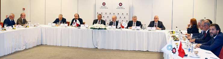 İSO ve İTO Yönetimleri, Müşterek Yönetim Kurulu Toplantısı için Bir Araya Geldi