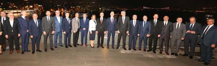 İTO Başkanı Türkiye'ye Yönelik Risk ve Fırsatları Aktardı