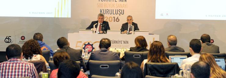 """İSO, """"Türkiye'nin 500 Büyük Sanayi Kuruluşu-2016"""" Araştırmasını Açıkladı 02"""