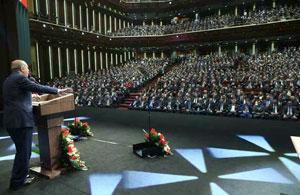 İstihdam Şurası ve Milli İstihdam Seferberliği Töreni, Cumhurbaşkanlığı Külliyesi'nde Yapıldı