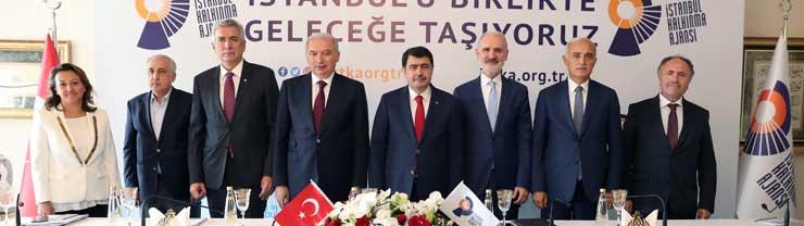 İSTKA'dan, Küresel Kent İstanbul İçin 694 Milyon TL Destek