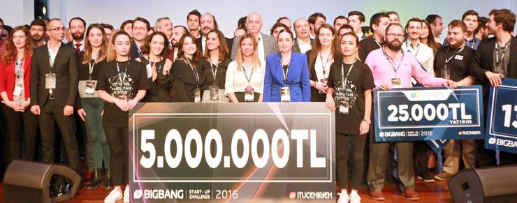 Big Bang 2016, İSO Geleceğin Sanayicisi Büyük Ödülü'nü Mikro-P ve 3Z Paylaştı 01