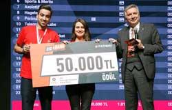 İSO Geleceğin Sanayicisi Büyük Ödülü'nü Nanomik, Simularge ve Hagelson Paylaştı 07