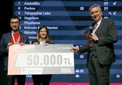 İSO Geleceğin Sanayicisi Büyük Ödülü'nü Nanomik, Simularge ve Hagelson Paylaştı 06