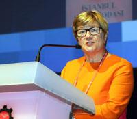 Finlandiya Büyükelçisi Nina Vaskunlahti