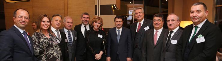 İSO Yönetimi ve Meclis Üyeleri İstanbul'daki Konsoloslarla Buluştu 02