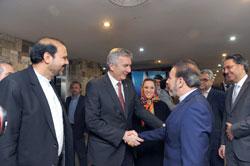 """Bakan Mahmoud Vaezi ile Görüşmeden """"İSO'da İran Masası"""" Fikri Ortaya Çıktı 03"""