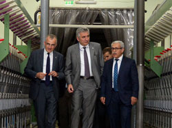 İSO Meclis Üyeleri Malatya'daki OSB'lerde Yatırım İmkanlarını Gezerek İnceledi 02
