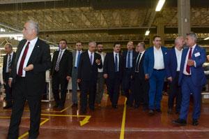 İSO Meclis Üyeleri Malatya'daki OSB'lerde Yatırım İmkanlarını Gezerek İnceledi 03