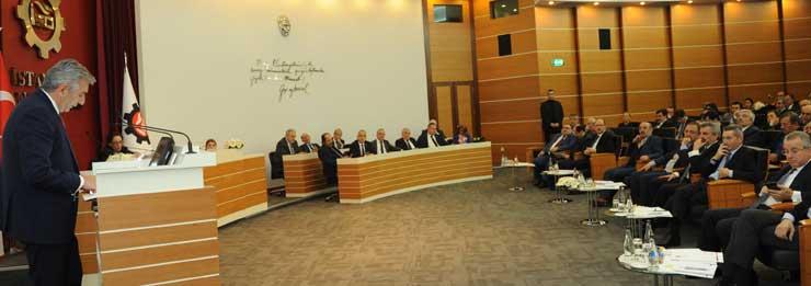 İSO'nun Aralık Meclisi'nde Çevre ve Şehircilik Bakanı Özhaseki Konuk Oldu 01