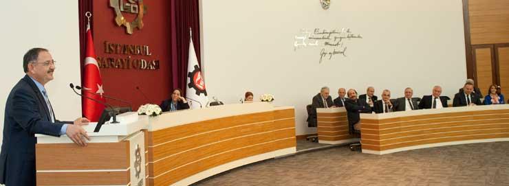 İSO'nun Aralık Meclisi'nde Çevre ve Şehircilik Bakanı Özhaseki Konuk Oldu 02
