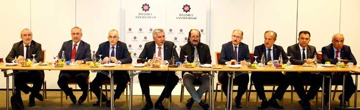 İSO Yönetim Kurulu, Meclis Çalışma  Grupları 1