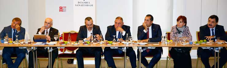 İSO Yönetim Kurulu, Meclis Çalışma Grupları 2